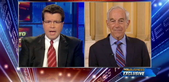 Ron Paul on Cavuto