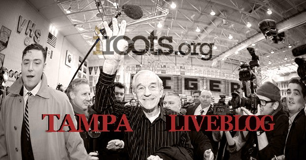 TAMPA Ron Paul Live