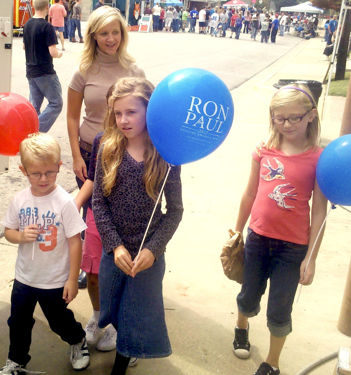 Ron Paul 2012 Balloons